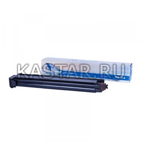 Тонер-картридж NVP совместимый NV-TN-214 Magenta для Konica Minolta bizhub C200 Пурпурный (Magenta) 18500стр.