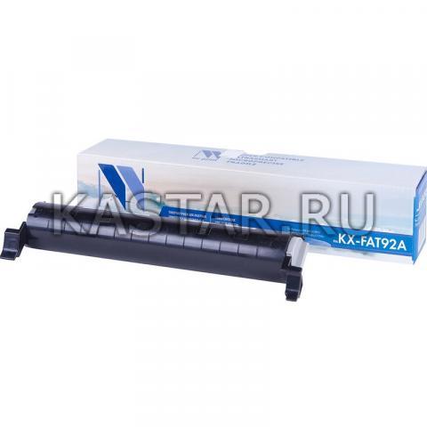 Картридж NVP совместимый NV-KX-FAT92A для Panasonic KX-MB262 | MB263 | MB271 | MB283 | MB763 | MB772 | MB773 | MB781 | MB783 Черный (Black) 2000стр.