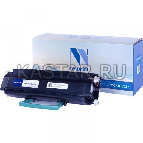 Картридж NVP совместимый NV-E250A11E | 21E для Lexmark Optra E250d | E250dn | E350d | E350dn | E352dn Черный (Black) 3500стр.