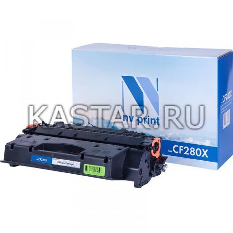Картридж NVP совместимый NV-CF280X для HP LaserJet Pro M401d | M401dn | M401dw | M401a | M401dne | MFP-M425dw | M425dn Черный (Black) 6900стр.