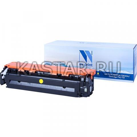 Картридж NVP совместимый NV-CF212A | NV-731 Yellow для HP LaserJet Color Pro M251n | M251nw | M276n | M276nw | Canon LBP-7100Cn | 7110Cw Желтый (Yellow) 1800стр.