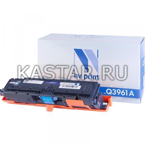 Картридж NVP совместимый NV-Q3961A Cyan для HP LaserJet Color 2820 | 2840 | 2550L | 2550Ln | 2550n | 3000 | 3000n | 3000dn | 3000dtn Голубой (Cyan) 4000стр.