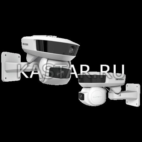 2-модульная 2 Мп IP-камера Hikvision iDS-2PT9122IX-DE/S с ИК-подсветкой 100 м