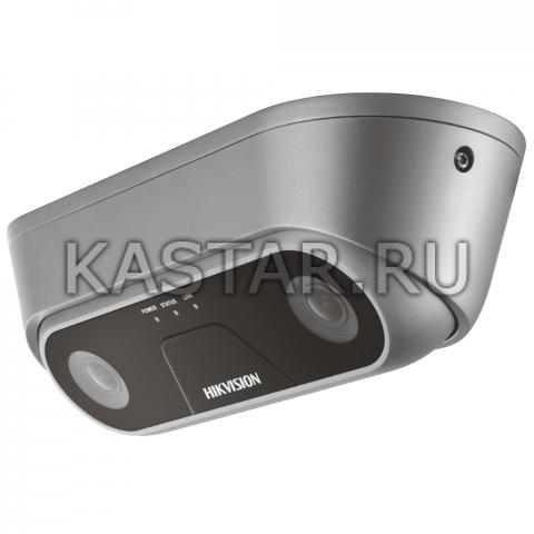 IP-камера Dual-Lens Hikvision iDS-2XM6810F-I/C (2 мм) с подсчетом людей, ИК-подсветкой