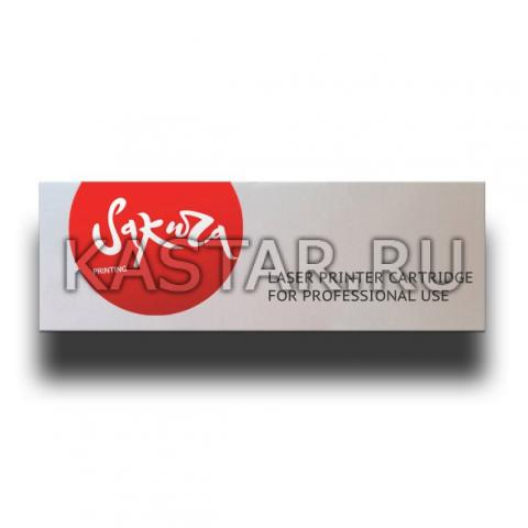 Картридж SAKURA 60F5000 для Lexmark MX310/410/510/511/611, черный, 2 500 к. для MX310/410/510/511/611  2500стр.