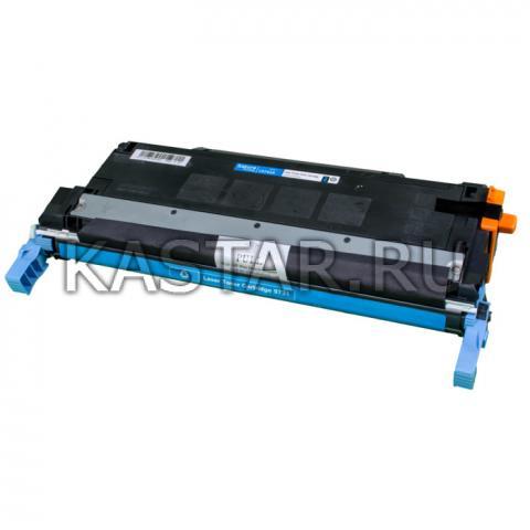 Картридж SAKURA C9731A  для принтера HP Laser Jet 5500/5550, синий , 12000 к. для LJ 5500 / 5550  12000стр.