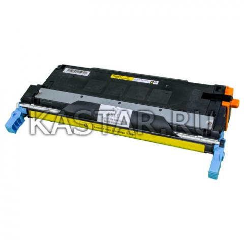 Картридж SAKURA C9732A  для принтера HP Laser Jet 5500/5550, желтый, 12000 к. для LJ 5500 / 5550  12000стр.