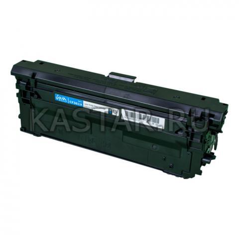 Картридж SAKURA CF361X  для HP, синий 9500к. для Color LJ Enterprise M553n / 553X / 553dn Color LJ Enterprise M552dn  9500стр.