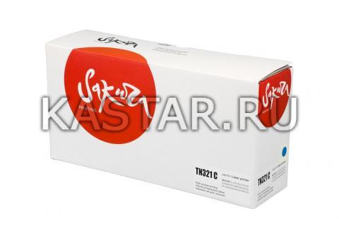Картридж SAKURA TN321C для Brother HL-8250/8350, DCP-8400/8450, MFC-8650, синий, 1 500к. для HL-8250/8350, DCP-8400/8450, MFC-8650  1500стр.
