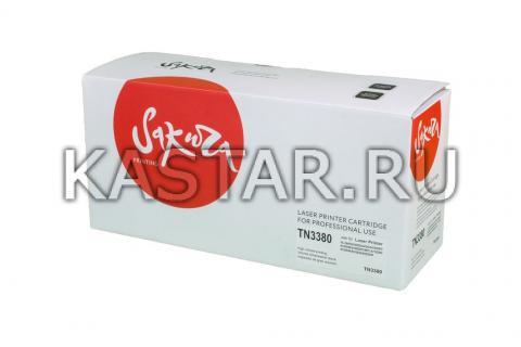 TN3380 Картридж SAKURA для Brother для HL-5440 / 5445 / 5450 / 5470 / 6180 / DCP-8110 / 8150 / 8155 / 8250 / MFC-8510 / 8515 / 8520 / 8950  8000стр.
