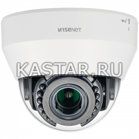 IP камера Wisenet LND-6070R с WDR 120 дБ, вариообъективом, ИК-подсветкой