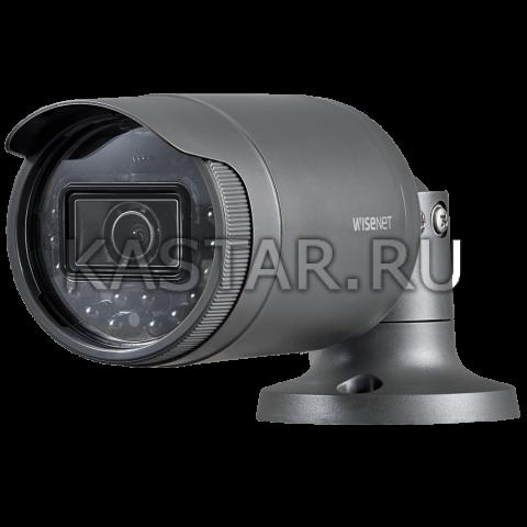 Сетевая bullet камера Wisenet LNO-6010R с WDR 120 дБ и ИК-подсветкой