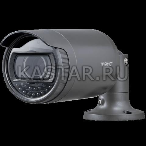 Сетевая камера Wisenet LNO-6070R, WDR 120 дБ, вариообъектив, ИК-подсветка