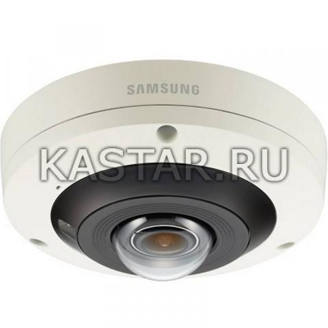 Сетевая 12Мп FishEye-камера Wisenet Samsung PNF-9010RP с ИК-подсветкой