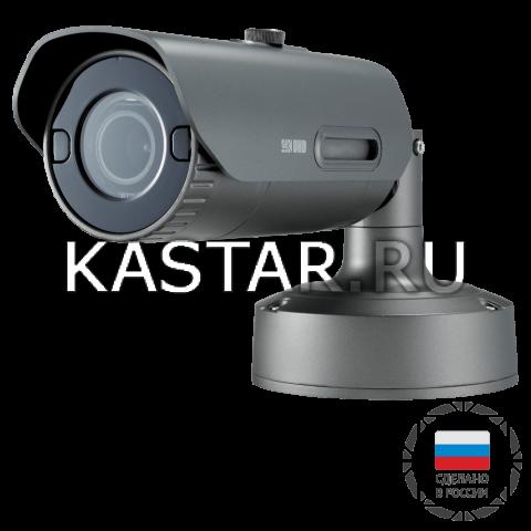 12 Мп IP-камера Wisenet PNO-9080R/CRU с Motor-zoom, ИК-подсветкой 40 м