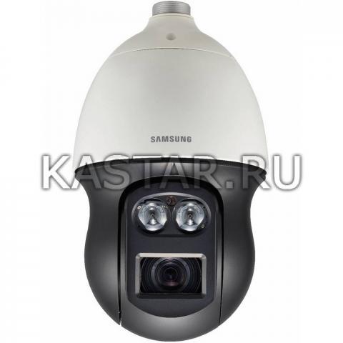 Поворотная 8Мп IP-камера Wisenet Samsung PNP-9200RHP, 20* zoom, ИК-подсветка 200 м