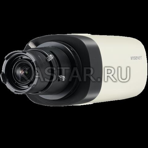Корпусная внутренняя IP-камера Wisenet QNB-6000P с WDR 120 дБ