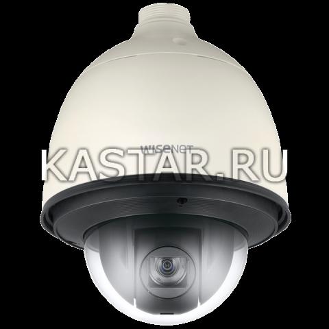 Поворотная вандалостойкая IP-камера Wisenet QNP-6230H с ИК-подсветкой и оптикой 23*