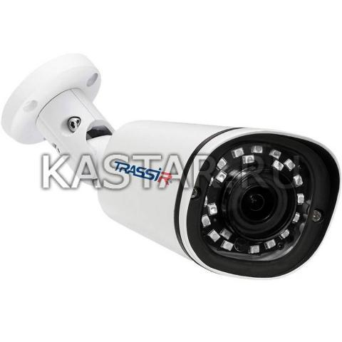 Цилиндр Сетевая 4Мп bullet-камера TRASSIR TR-D2142ZIR3 с ИК-подсветкой до 35 м и motor-zoom