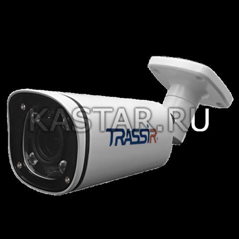 Цилиндр 8 Мп IP камера TRASSIR TR-D2183IR6 с подсветкой до 60 м и вариообъективом