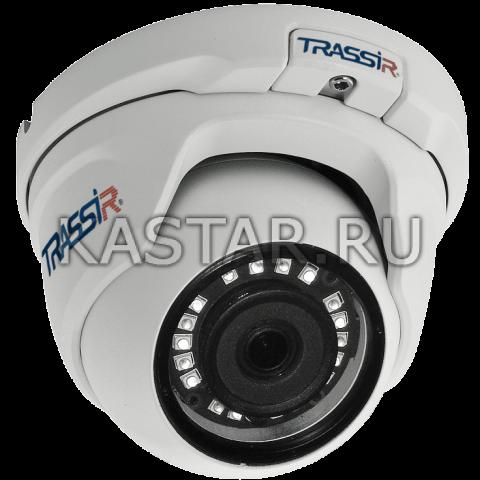 Сфера 1.3 Мп IP-камера TRASSIR TR-D8111IR2 (3.6 мм) с ИК-подсветкой