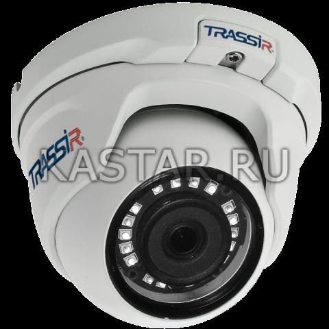 Сфера Сферическая 2 Мп IP-камера TRASSIR TR-D8121IR2 (3.6 мм) с ИК-подсветкой