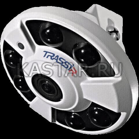 4 Мп FishEye-камера TRASSIR TR-D9141IR2 (1.4 мм) с ИК-подсветкой 20 м
