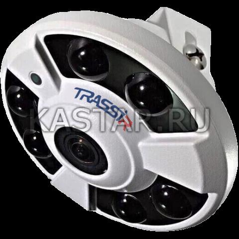 6 Мп IP-камера TRASSIR TR-D9161IR2 (1.4 мм) с FishEye объективом и ИК-подсветкой