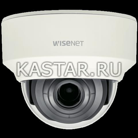 Сетевая купольная 2 Мп IP-видеокамера Wisenet XND-L6080V с motor-zoom