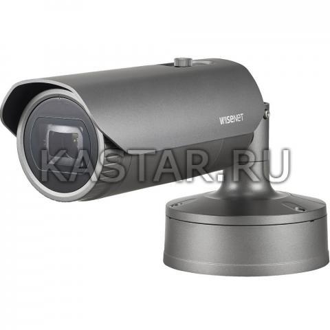 Вандалостойкий extraLUX bullet Wisenet Samsung XNO-6085RP с Motor-zoom и ИК-подсветкой 70 м