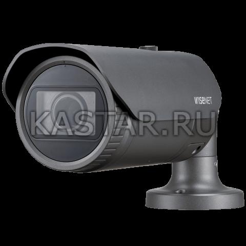 Цилиндрическая IP-камера Wisenet XNO-L6080R с Motor-zoom и ИК-подсветкой