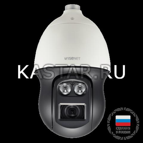 Поворотная 2 Мп IP-камера Wisenet XNP-6370RH/CRU с 37* Motor-zoom