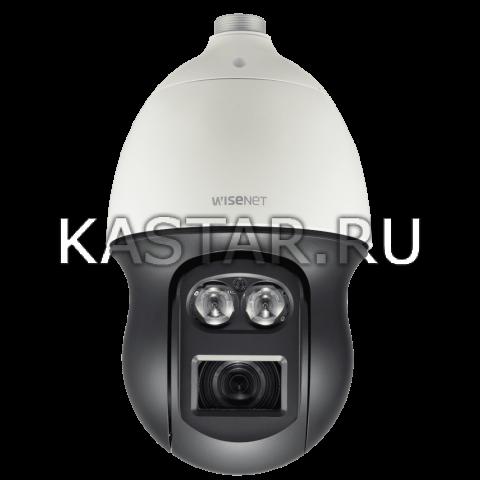 IP-камера Wisenet XNP-6550RH с 55-кратной оптикой, ИК-подсветкой 500 м