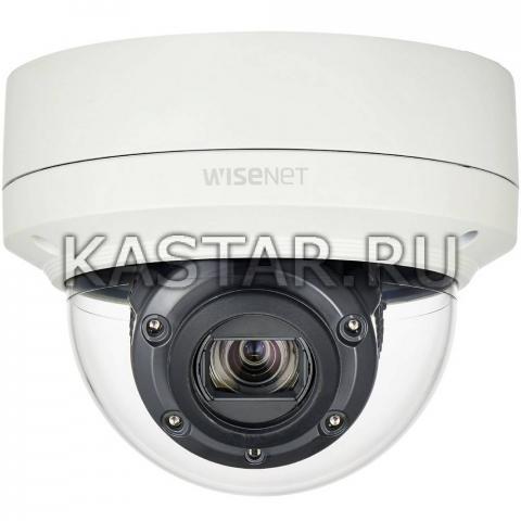 Вандалостойкая Smart-камера Wisenet Samsung XNV-6120RP с Motor-zoom и ИК-подсветкой 70 м