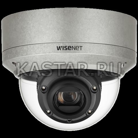 Smart IP камера Wisenet XNV-6120RS с WDR 150 дБ, ИК-подсветкой 70 м, оптикой 12*