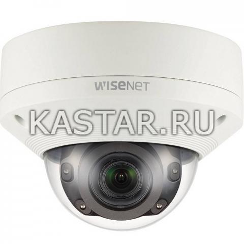 Smart-камера 5Мп Wisenet Samsung XNV-8080RP, Motor-zoom, ИК-подсветка 50 м