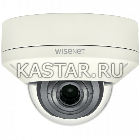 Купольная вандалостойкая IP-камера Wisenet XNV-L6080 с Motor-zoom