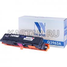 Картридж NVP совместимый NV-Q3963A Magenta для HP LaserJet Color 2820   2840   2550L   2550Ln   2550n   3000   3000n   3000dn   3000dtn Пурпурный (Magenta) 4000стр.