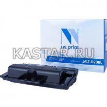 Картридж NVP совместимый NV-MLT-D208L для Samsung SCX-5835FN   5635FN Черный (Black) 10000стр.