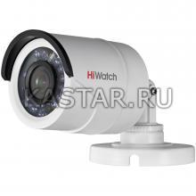 HD-TVI камера 1 Мп с ИК-подсветкой HiWatch DS-T100 (3.6 мм) для улицы