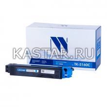 Картридж NVP совместимый NV-TK-5160 Cyan для Kyocera ECOSYS P7040cdn Голубой (Cyan) 12000стр.