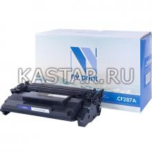 Картридж NVP совместимый NV-CF287A для HP LaserJet Pro M501n   Enterprise-M506dn   M506x   M527dn   M527f   M527c Черный (Black) 9000стр.