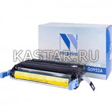 Картридж NVP совместимый NV-Q5952A Yellow для HP LaserJet Color 4700 | 4700dn | 4700dtn | 4700n | 4700ph+ Желтый (Yellow) 10000стр.
