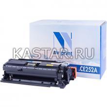 Картридж NVP совместимый NV-CE252A Yellow для HP LaserJet Color CP3525 | CP3525dn | CP3525n | CP3525x | CM3530 | CM3530fs Желтый (Yellow) 7000стр.