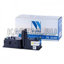 Картридж NVP совместимый NV-TK-5240 Yellow для Kyocera ECOSYS P5026cdn | P5026cdw | M5526cdn | M5526cdw Желтый (Yellow) 3000стр.