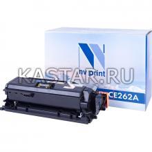 Картридж NVP совместимый NV-CE262A Yellow для HP LaserJet Color CP4025n   CP4025dn   CP4525n   CP4525dn   CP4525xn Желтый (Yellow) 11000стр.