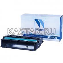 Картридж NVP совместимый NV-SP377XE для Ricoh SP-377DNwX | 377SFNwX Черный (Black) 6400стр.