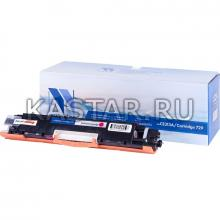 Картридж NVP совместимый NV-CE313A | NV-729 Magenta для HP LaserJet Color Pro 100 M175a | M175nw | CP1025 | CP1025nw | Canon i-SENSYS LBP7010C | LBP7018С Пурпурный (Magenta) 1000стр.