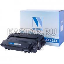 Картридж NVP совместимый NV-CE255X для HP LaserJet M525dn   M525f   M525c   Pro M521dw   M521dn   P3015   P3015d   P3015dn   P3015x Черный (Black) 12500стр.