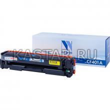 Картридж NVP совместимый NV-CF401A Cyan для HP Laser Jet Color Pro M252dw | M252n | M274n | M277dw | M277n7 Голубой (Cyan) 1400стр.